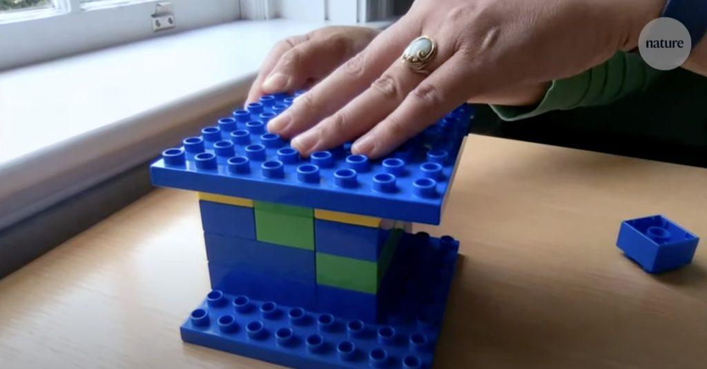 実験で使われたレゴブロック