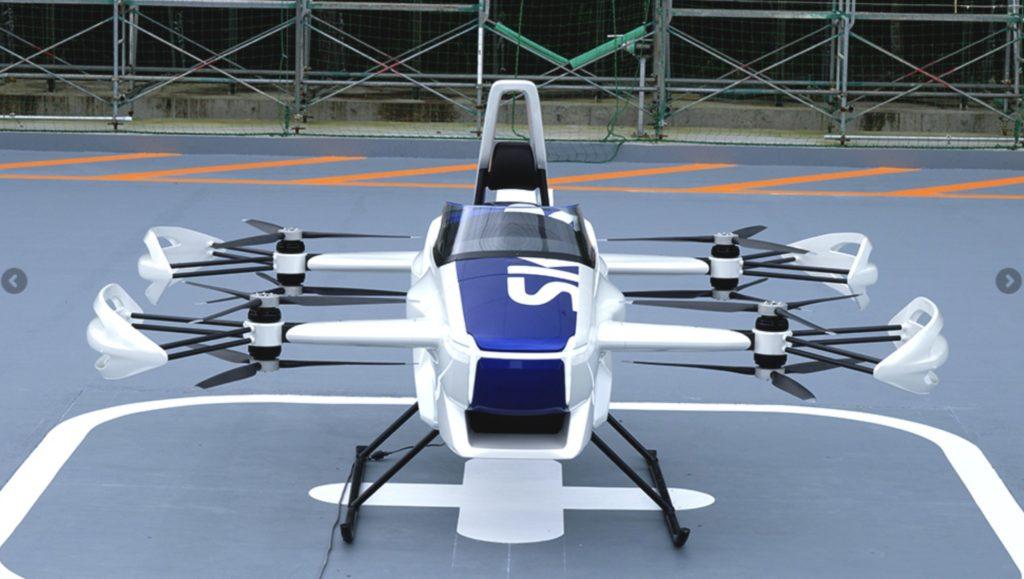 株式会社SkyDriveのeVTOL「SD-03」